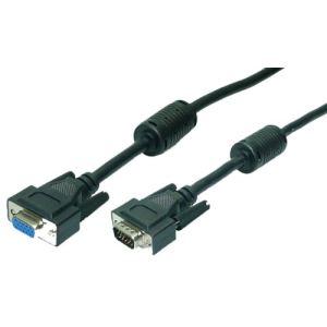 Logilink CV0019 - Câble VGA HD DSub 15 broches m/f 10 m