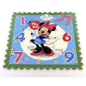 Tatamiz Tapis puzzle Minnie 9 dalles