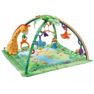 Fisher-Price Tapis d'éveil de la Jungle
