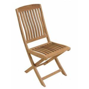 Proloisirs Chaise de jardin pliante Rias en teck