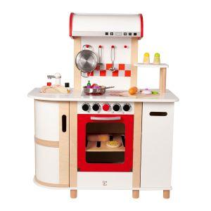 Hape E8018 - Cuisine multifonction en bois