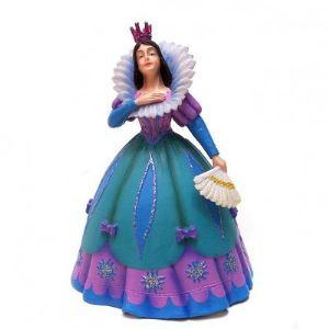 Plastoy Figurine Princesse à l'éventail bleue