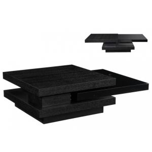 table basse podium plateau pivotant comparer avec. Black Bedroom Furniture Sets. Home Design Ideas