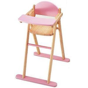 Pintoy Chaise haute pour poupon