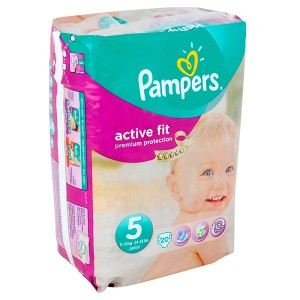 Pampers Active Fit taille 5 Junior 11-25 kg - 20 couches