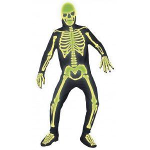 Déguisement squelette adulte (taille au choix)