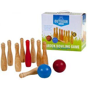 Outdoor Play Bowling de jardin