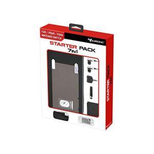 Subsonic Pack d'accessoires 7-en-1 pour Nintendo Switch