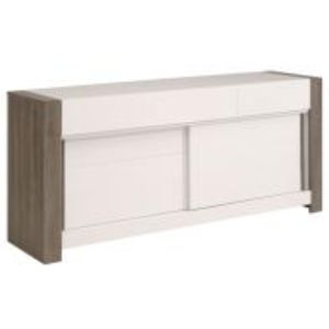 Buffet 2 portes coulissantes moderne Keny 6