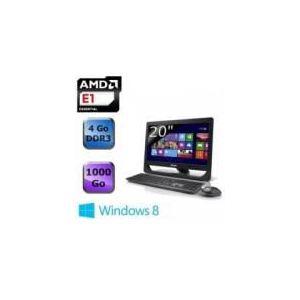 "Asus ET2012AUKB-B017K - All in One 20"" avec AMD E2-1800"
