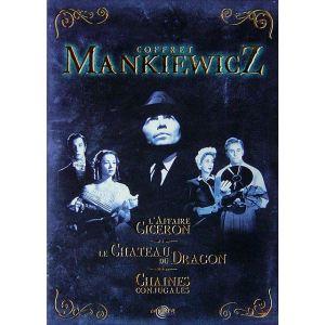 Coffret Mankiewicz - L'Affaire Cicéron + Le Château du dragon + Chaînes conjugales
