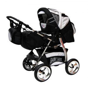 Lux4kids King - Poussette roues R8 avec siège auto et parasol