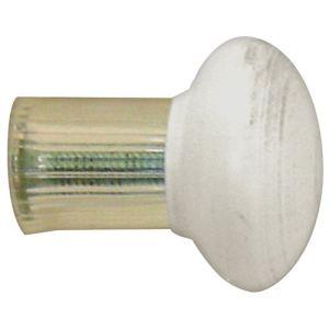 Mobois 2 embouts déco métal fermé (20 mm)