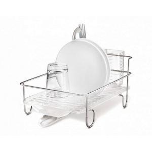 Simplehuman Petit égouttoir à vaisselle en acier