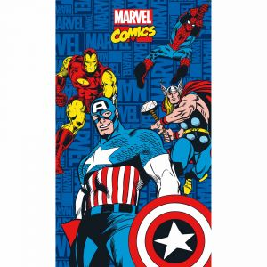 Cti Drap de bain/plage Avengers Marvel Comics (70 x 120 cm)