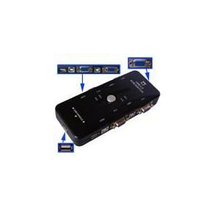 High-Tech Place Switch KVM 4 ports avec USB