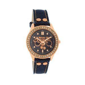 Le Temps des Cerises TC54GJETS - Montre pour femme avec bracelet en cuir