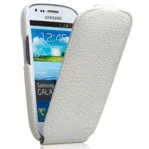 Issentiel Ultra Mince - Housse en cuir pour Galaxy S3 mini