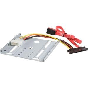 """StarTech.com BRACKET25SAT - Kit de Montage pour Disque Dur SATA ou SSD 2.5"""" dans Emplacement Frontal 3.5"""""""