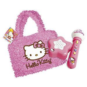 Micro avec amplificateur et sac Hello Kitty