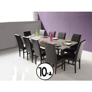 265 offres table a manger mobilier de france comparez for Table salle a manger design mobilier de france