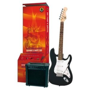 legend pacs100 pack guitare lectrique type strat. Black Bedroom Furniture Sets. Home Design Ideas