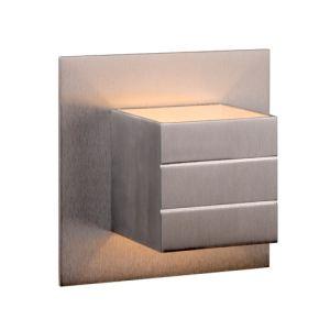 Lucide Applique carré avec base en aluminium Bok