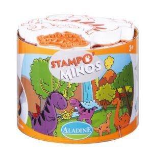 Aladine Stampo' Minos : tampons dinosaures