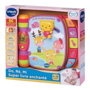 Vtech Do, Ré, Mi Super livre enchanté