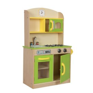 Primary Products Ltd Cuisine en bois deluxe multicolore