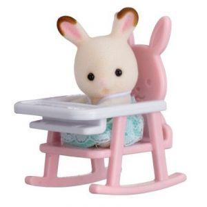 Epoch Sylvanian Family 5197 - Bébé Lapin chaise bébé