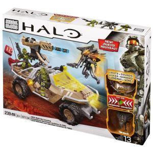 Mega Bloks 97134U - Halo : Quad Gausshog pour opérations nocturnes de l'UNSC