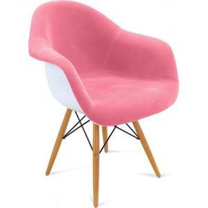 chaise tissu rose comparer 230 offres. Black Bedroom Furniture Sets. Home Design Ideas