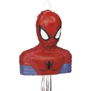Unique Industries Inc Piñata Spiderman à tirer