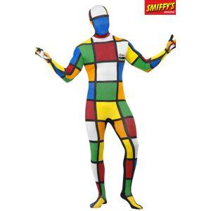 Déguisement seconde peau Rubik's Cube (taille M ou L)
