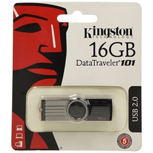 Kingston DT101G2/16GB - Clé USB 2.0 DataTraveler 101 G2 16 Go
