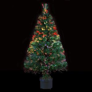 Aurora - Sapin de Noël en fibre optique (90 cm)