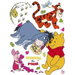 Stickers géant Winnie l'Ourson et ses amis