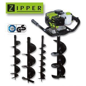 Zipper ZI-ELB70 - Tarière thermique 2 temps 51,7 cm3