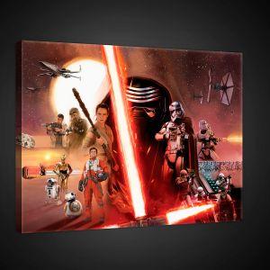 tableau star wars comparer 311 offres. Black Bedroom Furniture Sets. Home Design Ideas
