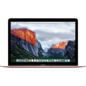 """Apple MacBook 12"""" (2016) avec Core M3 1,1 GHz (256Go)"""