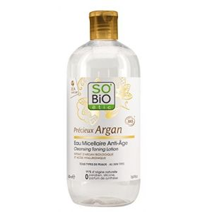 So'Bio Étic Eau Micellaire Anti-âge Précieux Argan - 500 ml