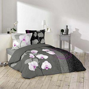 La Maison d'Amélie Purity - Parure de couette 100% coton (220 x 240 cm)