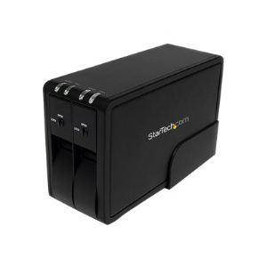 """StarTech.com SAT3520U3R - Boîtier externe pour 2 disques durs 3.5"""" SATA ll vers USB 3.0"""
