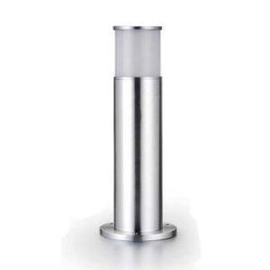Easy Connect 64206 - Borne lumineuse cylindrique en inox H 45 cm