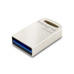 Integral INFD128GBFUS3.0 - Clé USB 3.0 Fusion 128 Go
