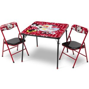 Delta Children Ensemble table et chaises pliantes Minnie