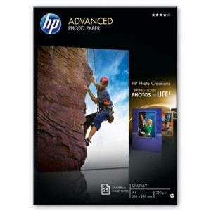 HP Q5456A - 25 feuilles de papier photo Advanced Glossy 250g/m² (A4)