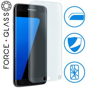 Force glass FGGS7EORIGINALV2 - Protection d'écran en verre trempé pour Galaxy S7 Edge
