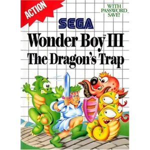 Wonder Boy III : The Dragon's Trap sur Master System
